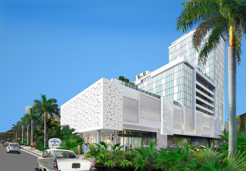 Kobi Karp-Designed Residence Inn Miami Sunny Isles Beach Opens in Sunny Isles