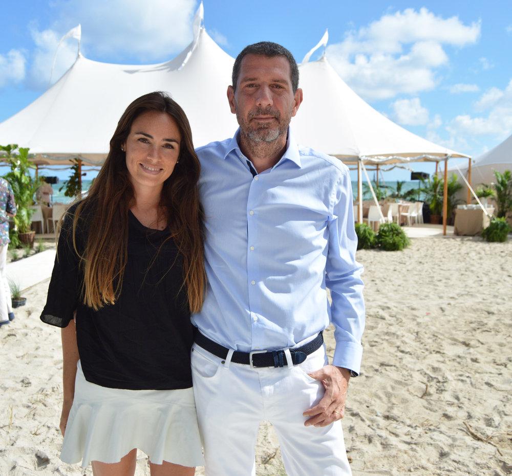 Florencia Aise and Luis Pierrini