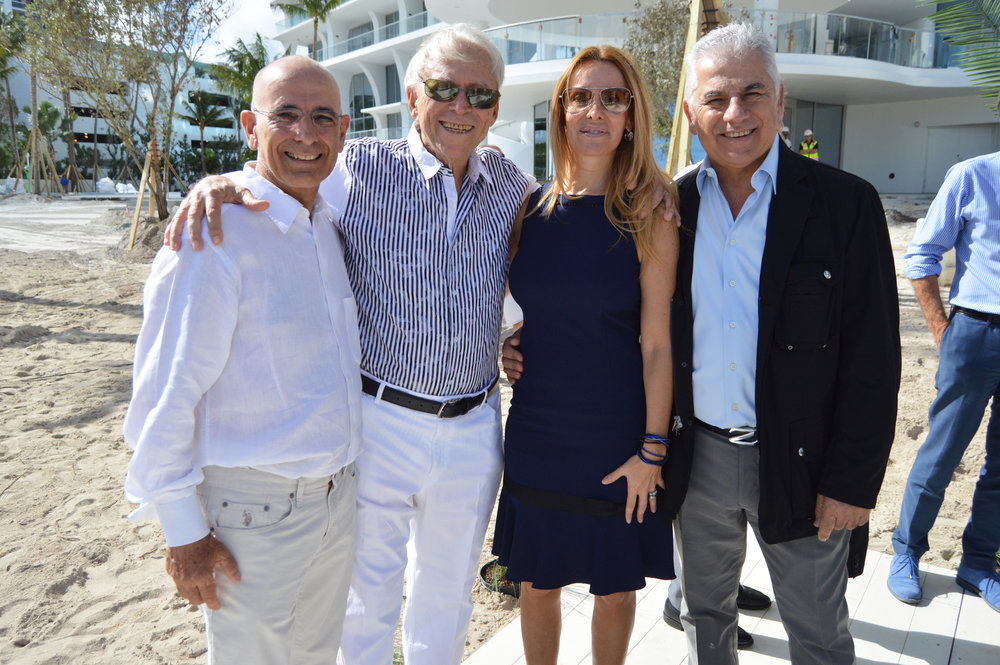 Luis Seoane, Enrique Manhard, Maria Amorin and Eduardo Campliglia