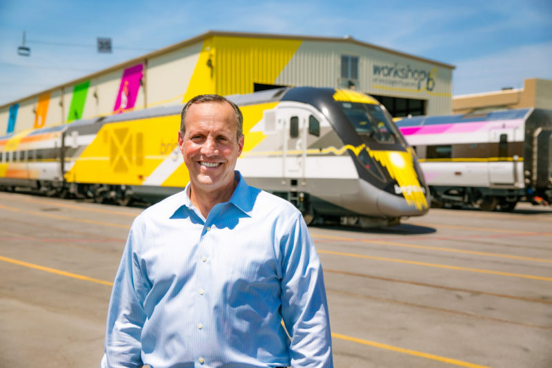 Dave Howard, CEO of Brightline