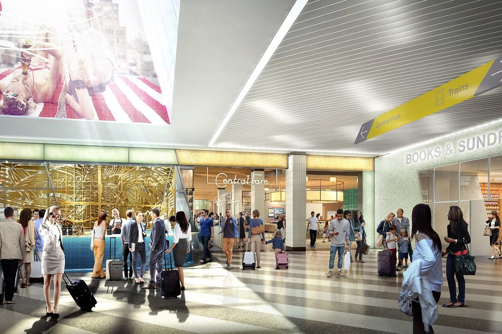 New Renderings Revealed Of Central Fare Food Hall Coming to MiamiCentral