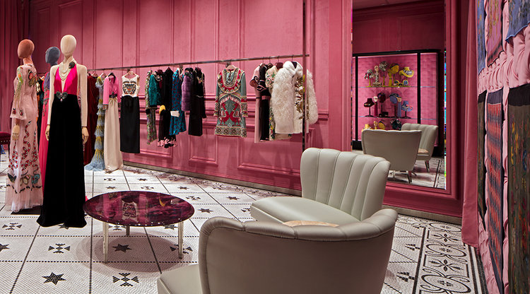 Check Out The New Gucci Flagship Boutique Now Open In Miami Design