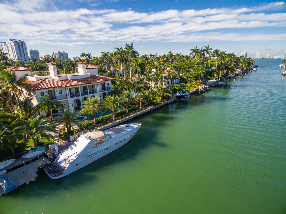 Tour This Rare Mediterranean Bayfront Estate On Miami Beach's Exclusive Sunset Islands