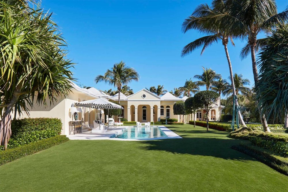 Check Out This Spectacular North End Oceanfront Estate in Palm Beach Asking $49.5 Million