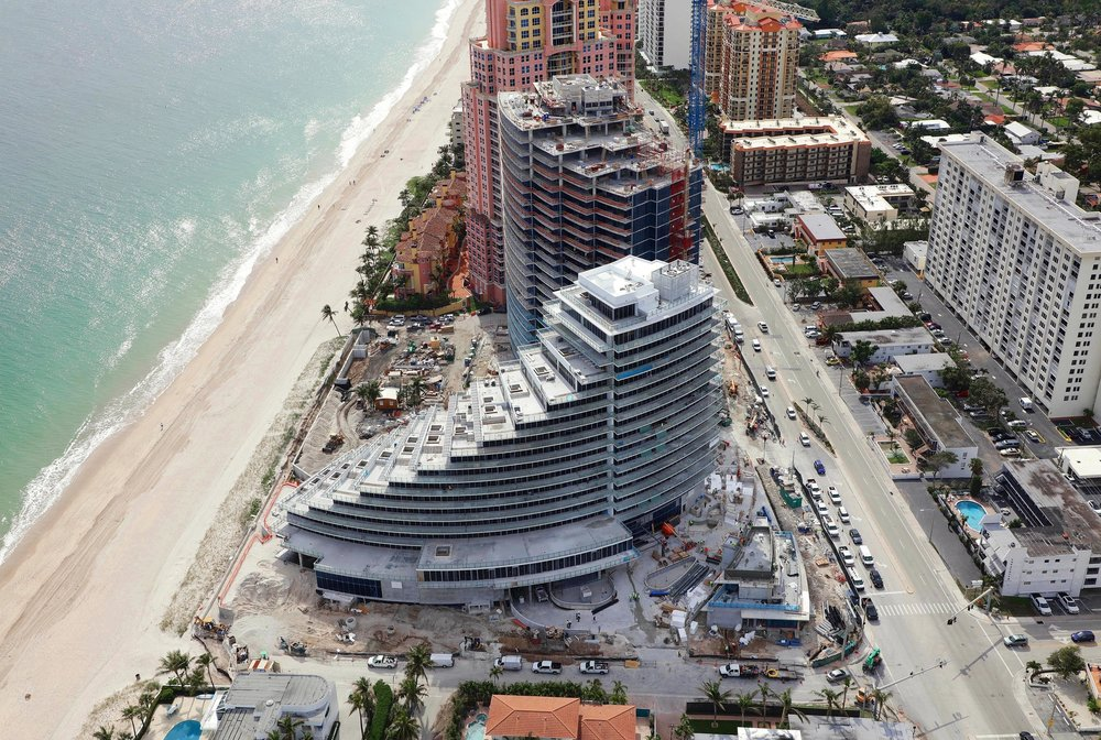 Auberge Beach Residences & Spa Officially Tops Off South Tower in Fort Lauderdale