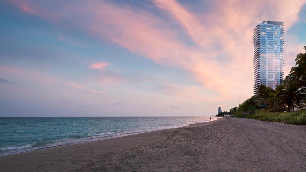 The Enrique Norten-Designed 2000 Ocean Breaks Ground In Hallandale Beach
