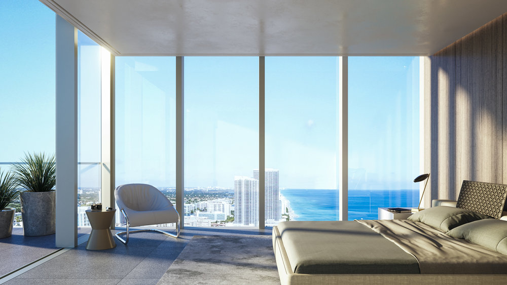 The Enrique Norten-Designed 2000 Ocean Breaks Ground In Hallandale Beach