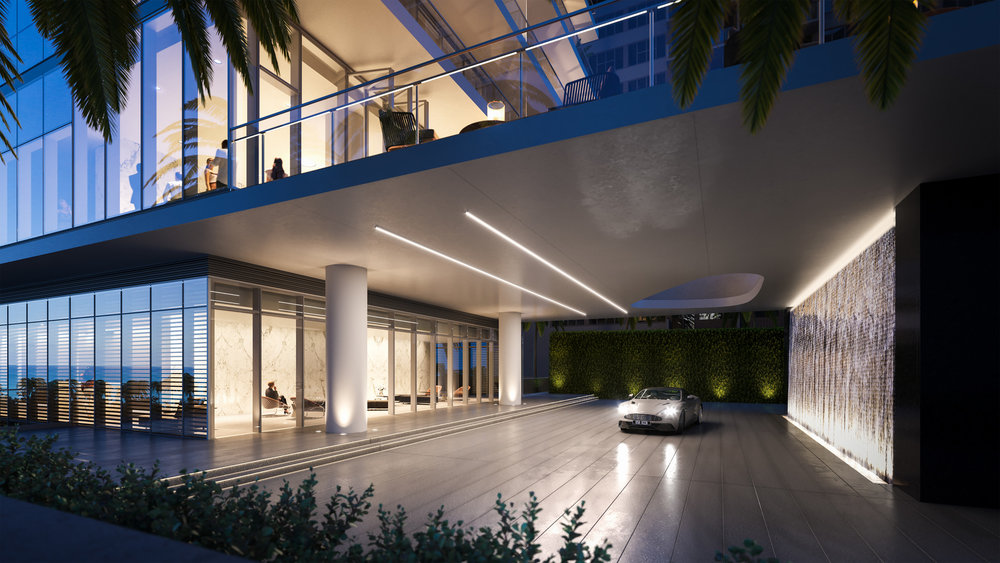 2000 Ocean Designed By Enrique Norten To Break Ground In Early 2018 In Hallandale Beach