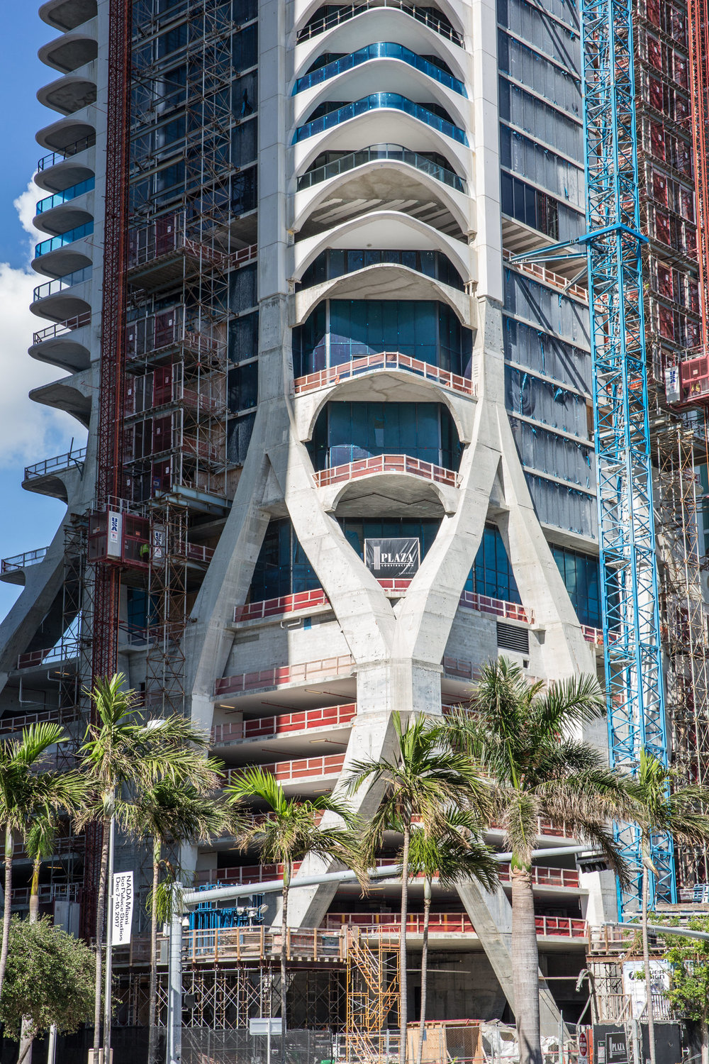 Zaha Hadid's Futuristic One Thousand Museum Tops Off On Museum Park in Downtown Miami