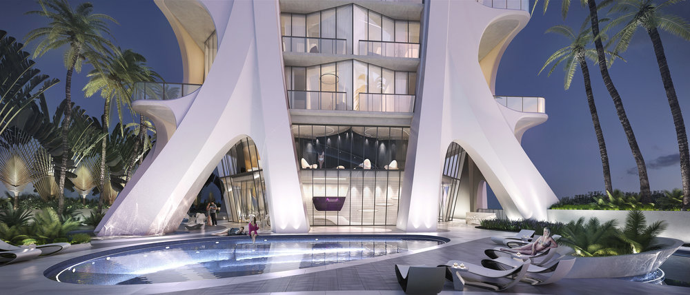 One Thousand Museum by Zaha Hadid Architects Tops Off & Releases New Renderings of Amenity Spaces