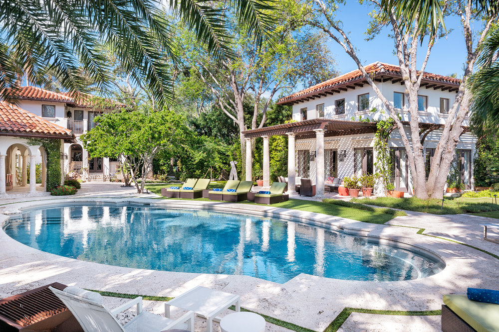 "The Former Miami Beach Estate Of Baseball Hall of Fame Superstar Iván ""Pudge"" Rodríguez Is Back On The Market For $22.5 Million"