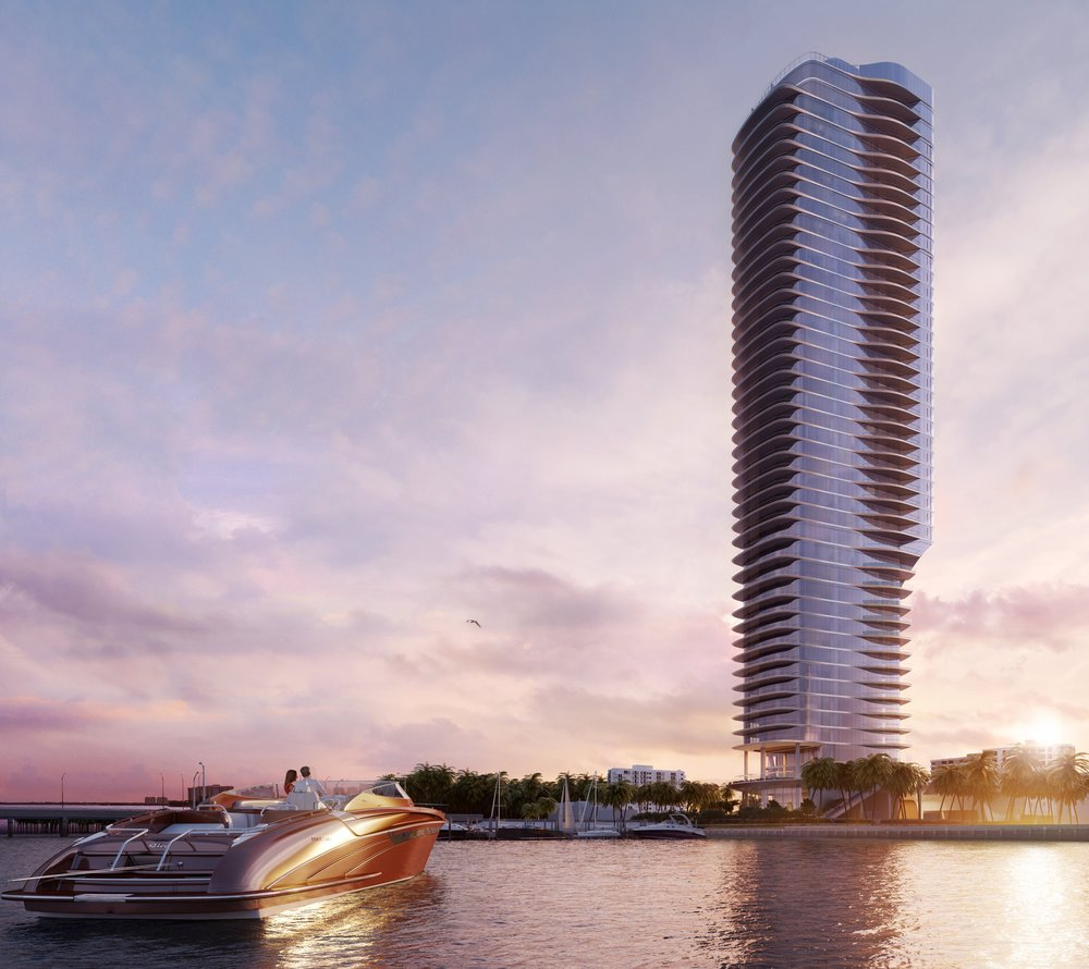 OKO Group Announces New Waterfront Tower, Una, Set to Soar Near Crossroads of Key Biscayne and Coconut Grove in Brickell