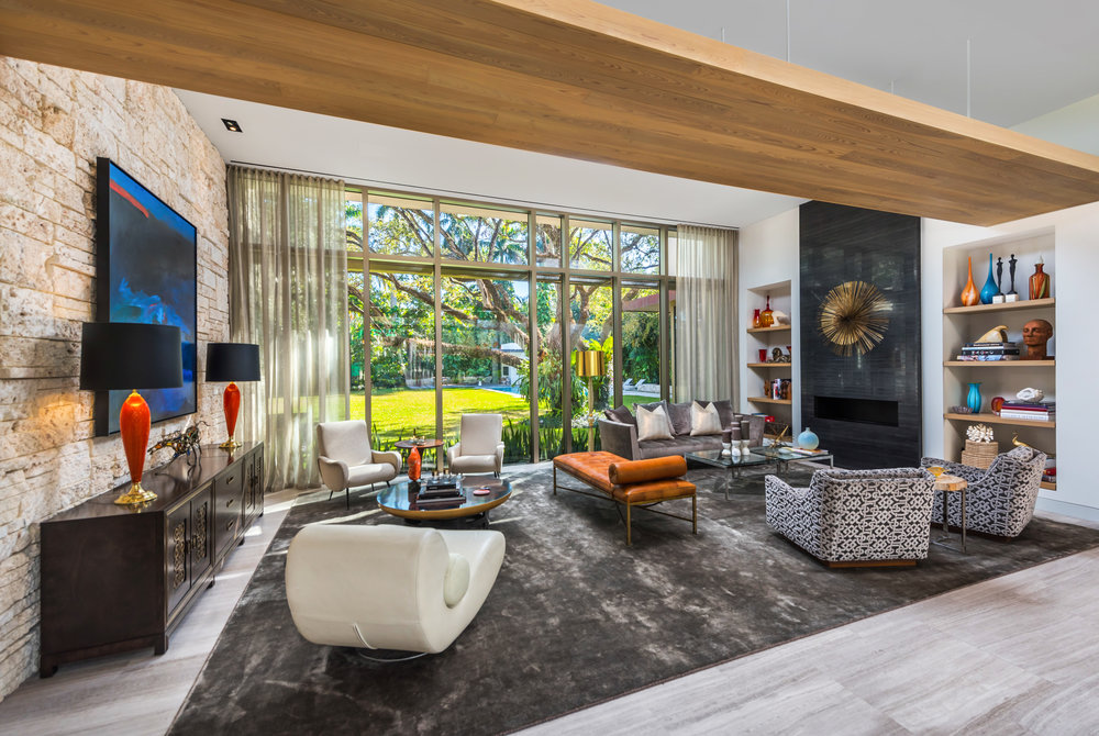 Delve Into This Contemporary Hommock Lakes Estate in Coral Gables Currently Asking $8.99 Million