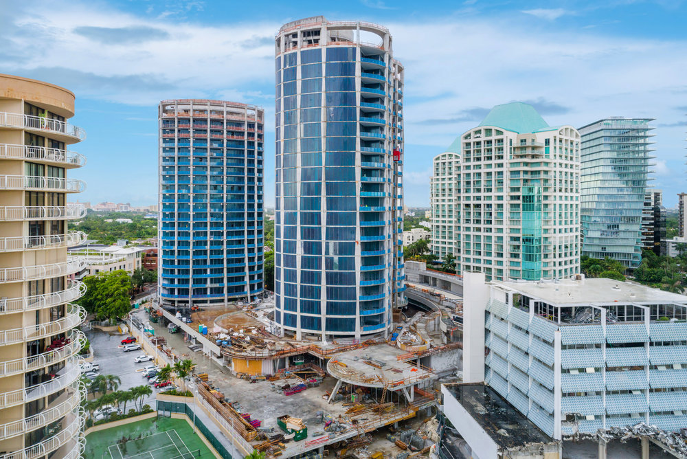 One Park Grove, The Third & Final Tower of The Exclusive Park Grove Community Breaks Ground in Coconut Grove