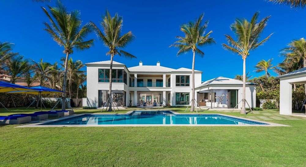 "Tour The Stunning Palm Beach Estate Which Was Used In Jenny Tolman's New Music Video ""Something To Complain About"""