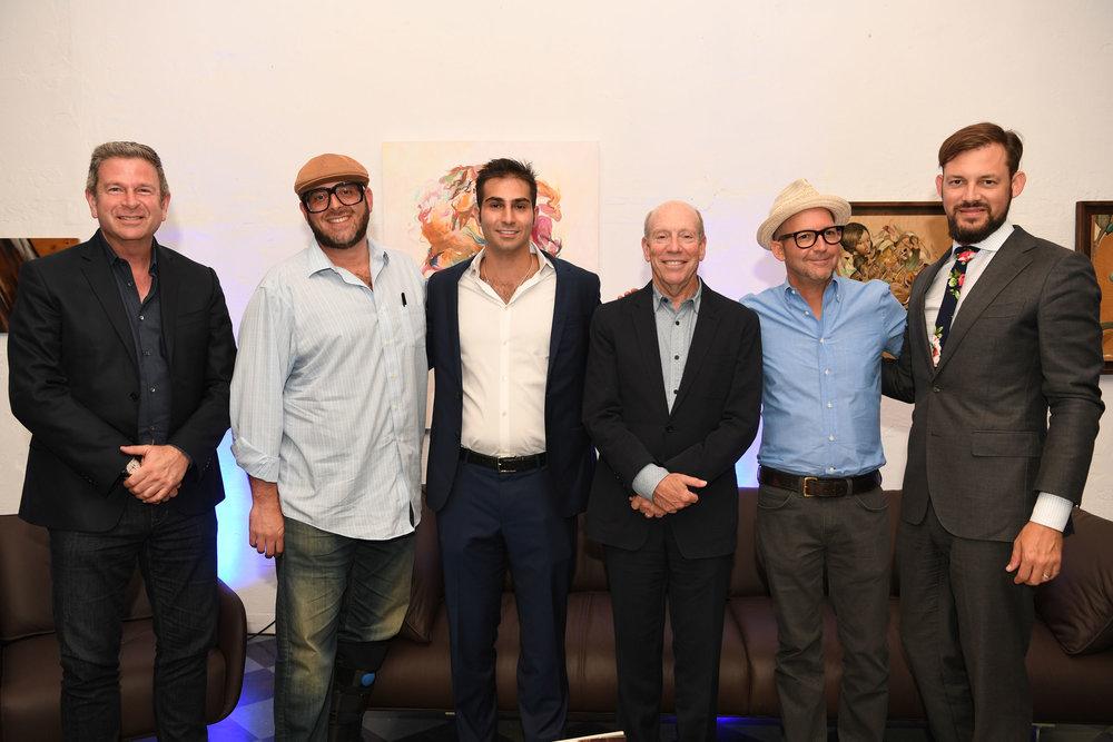 Nir Shoshani, Gary Ressler, Demetri Demascus, Steven Gretenstein, David Polinsky, & Jeremy Calleros Gauger