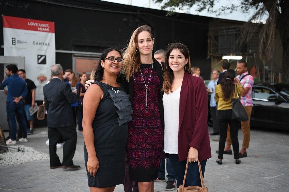Sarah Ghanta, Cate Afrooz, & Annie Berkowitz