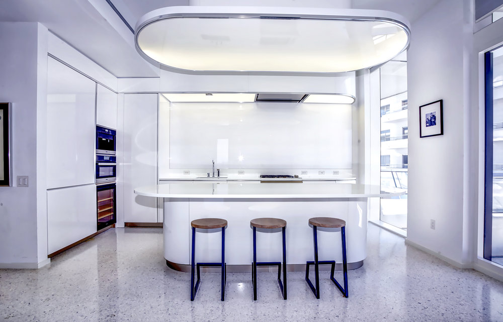 Own This Luxe Art-Deco Beachfront Bachelor Pad Designed by Foster + Partners in FAENA House For $2.495 Million