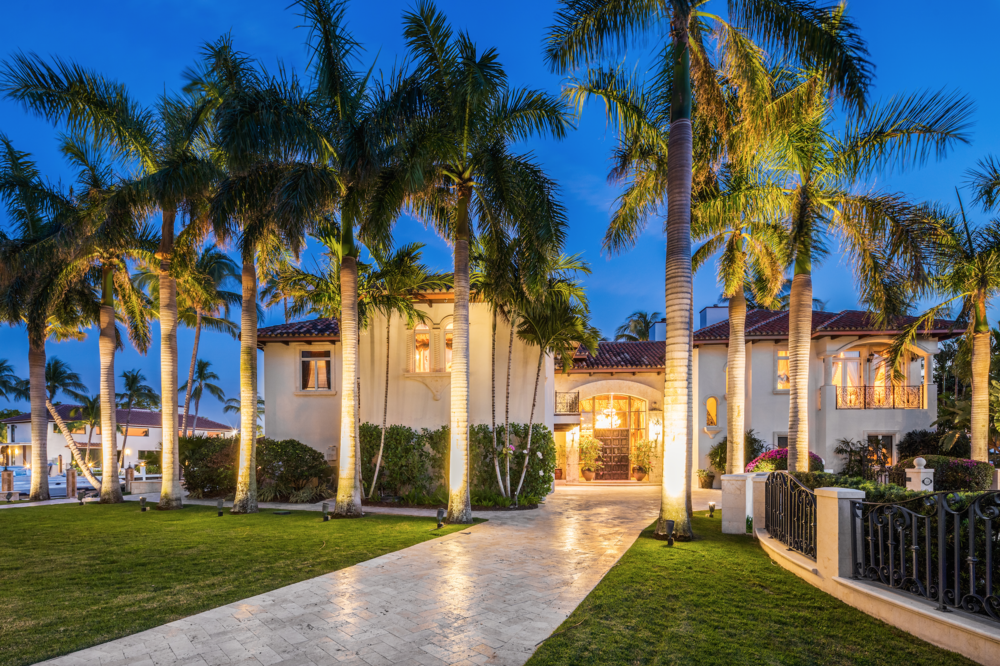 Former Designer of Versace Mansion Lists Her Two Ft. Lauderdale Mansions For Nearly $60 Million
