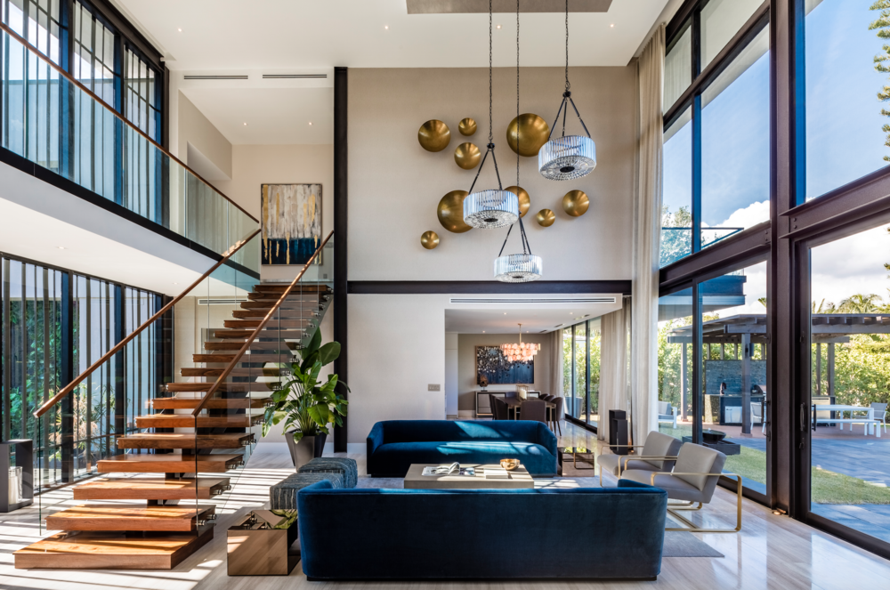721 Buttonwood Lane Tour This Contemporary Waterfront Estate Just Steps From Miami Design District Asking $7.89 Million