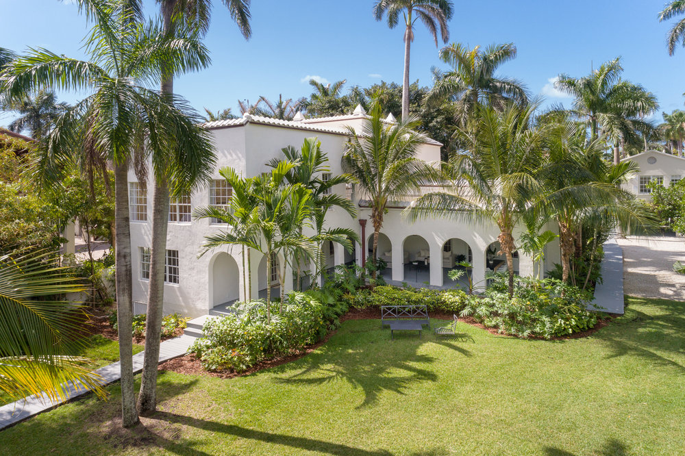 93 Palm Ave Miami Beach FL 93 Palm, Al Capone's Former Palm Island Miami Beach Mansion Hits Market For $14.9 Million