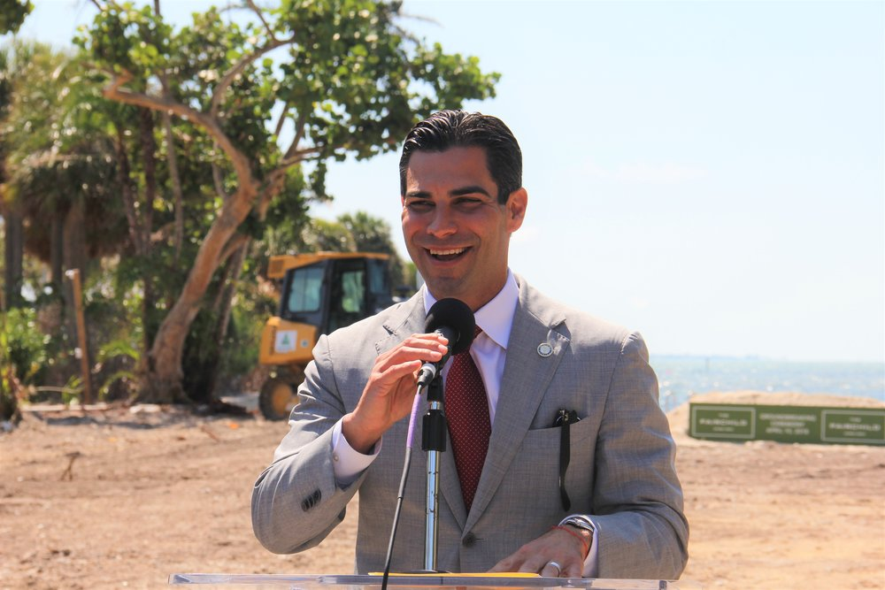 Mayor Francis Suarez