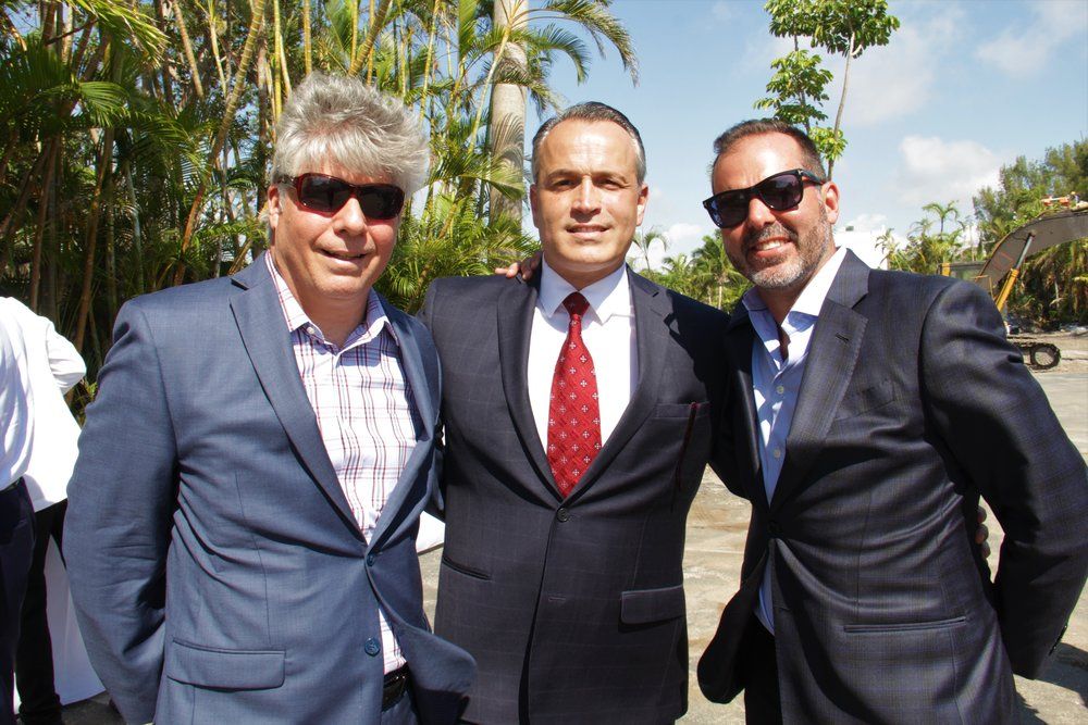 Rafael Rodriguez, Oscar Rodriguez, Fausto Callava