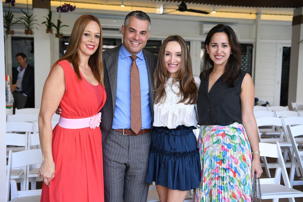 Jorge Guerra Jr, Claudine Letz, Yvonne Llauro, & Friend