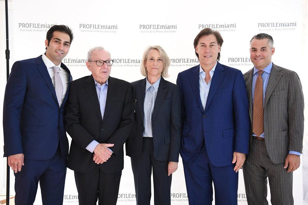 Demetri Demascus, Boris Kozolchyk, Dana Goldman, Edgardo Defortuna, & Jorge Guerra Jr.