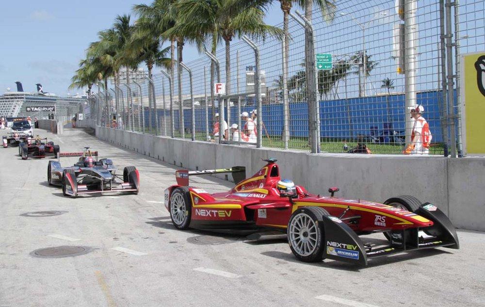 Formula E in Miami