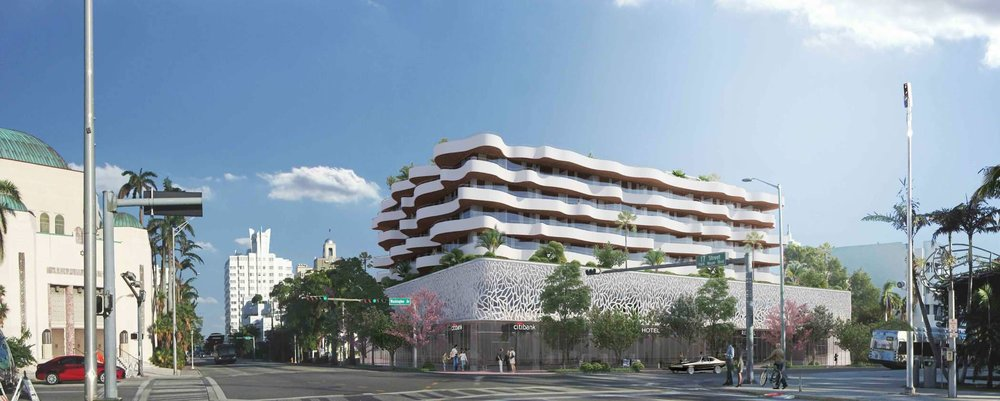 Rudy Ricciotti-Designed Symphony Park Hotel Proposed To Be Built In South Beach
