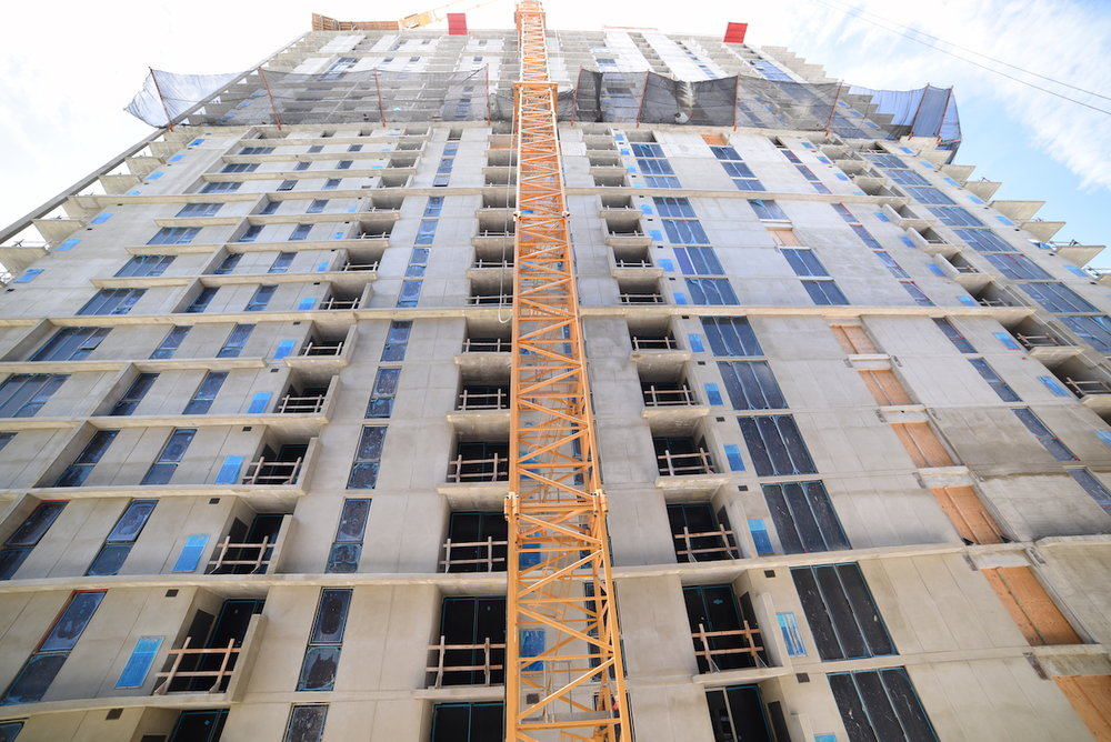 Wood Partners' Stantec-Designed Midtown 8 Officially Tops Off In Midtown Miami