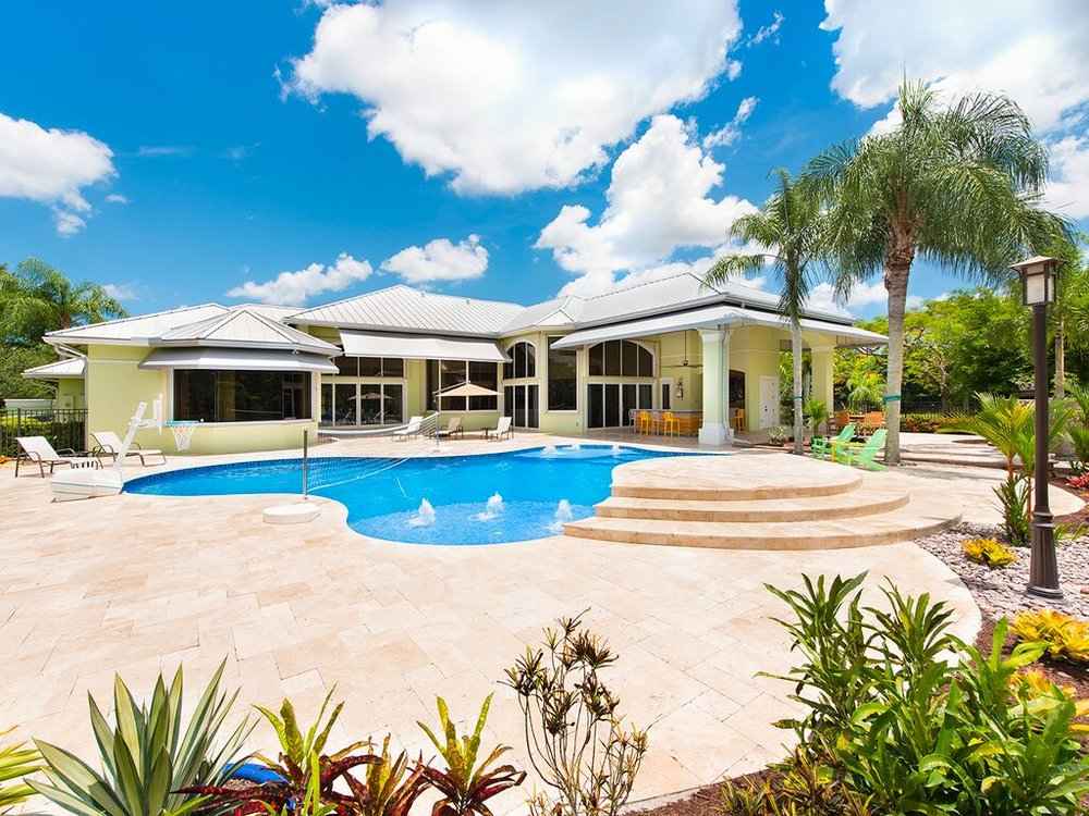 Tour This Waterfront Weston Estate With A Caribbean  Currently Asking $2.6 Million