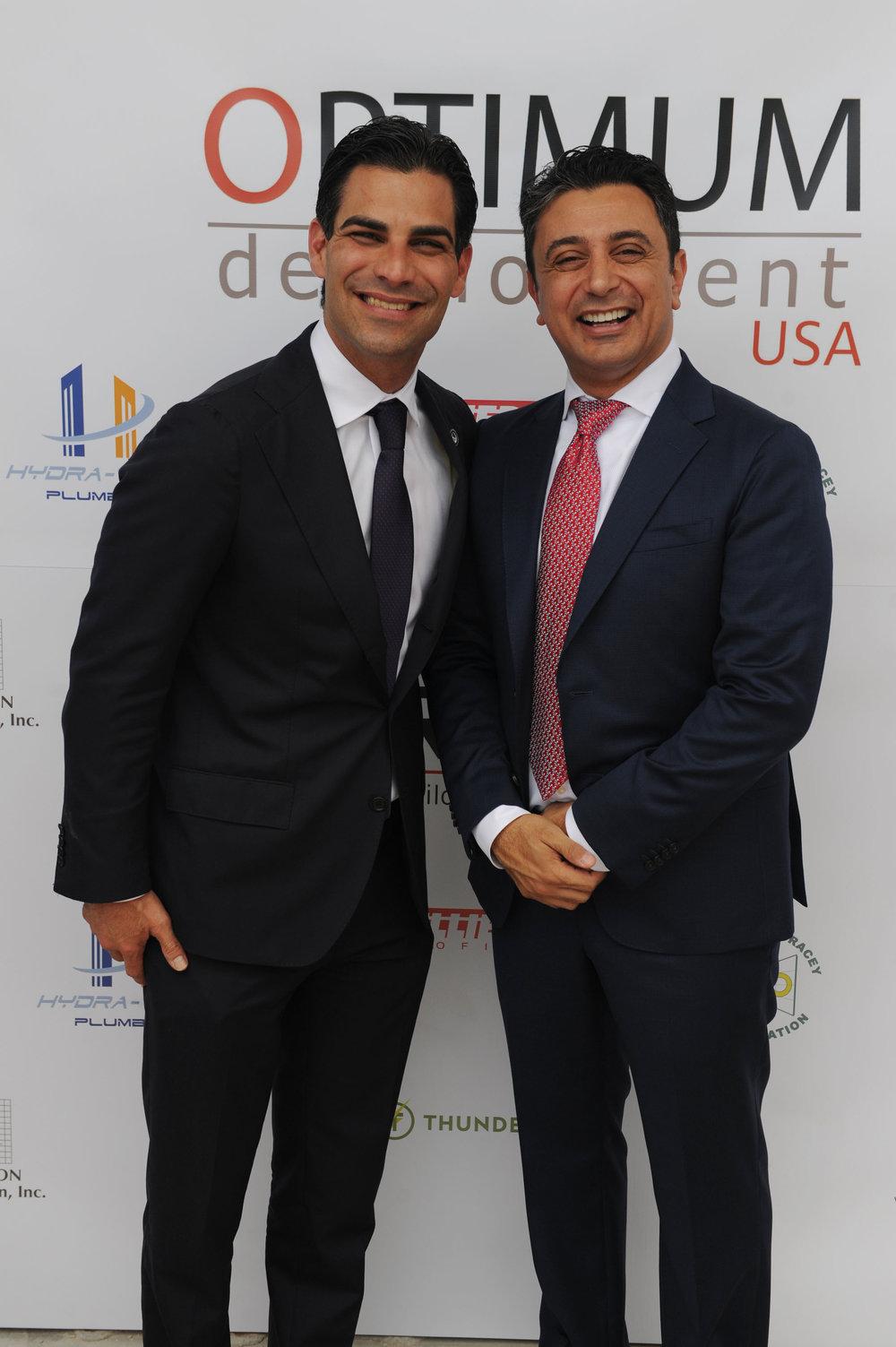 Mayor Francis Suarez & Ricardo Tabet