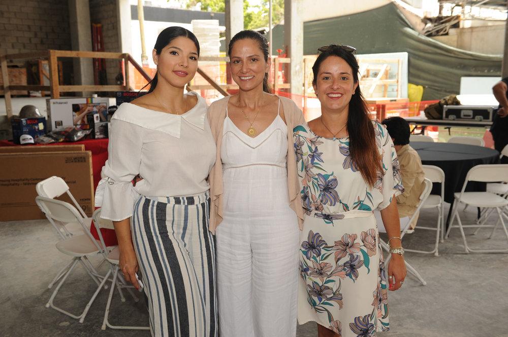 Adriana Giron, Fay Ramlawi & Flora Bertano