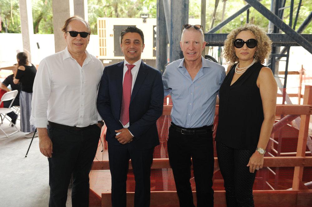 Bernardo Fort-Brescia, Ricardo Tabet, Donald Kipnis, & Anna Caruso