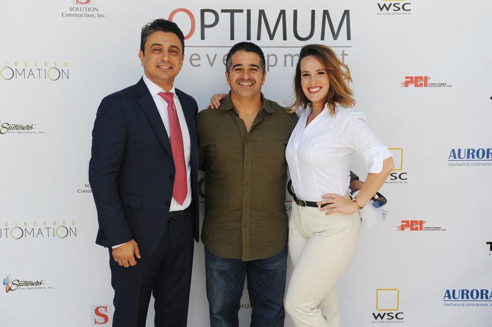 Ricardo Tabet, Nelson Ortiz & Veronica Enriquez