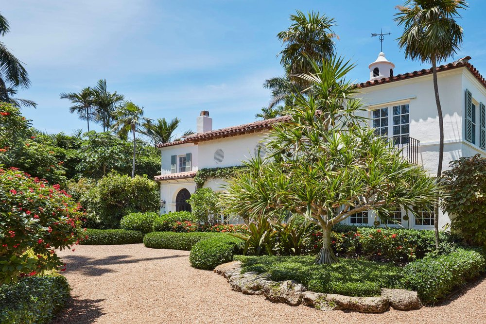 Take An Inside Look At This Landmarked 1926 Palm Beach Estate Designed By EB Walton Asking $10 Million