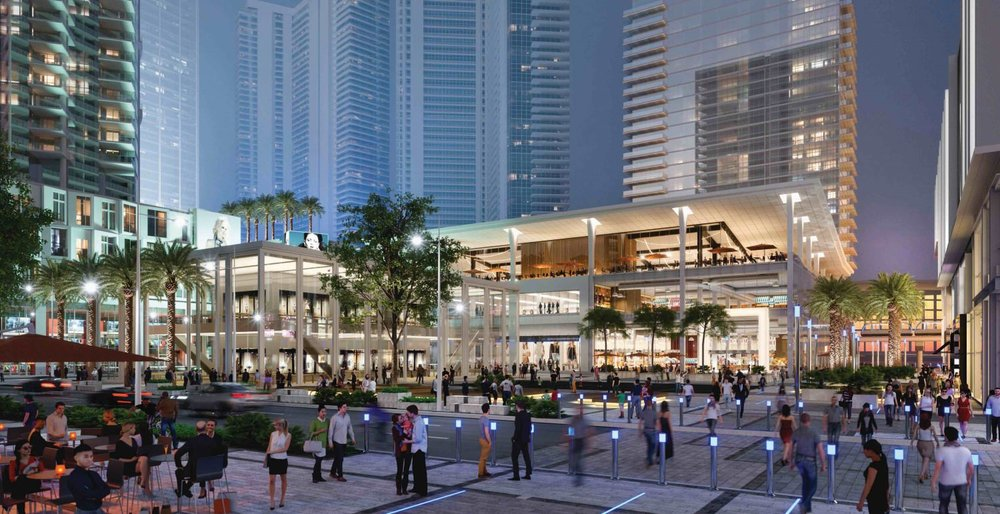 New Renderings Revealed of Miami Worldcenter