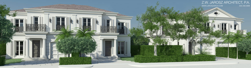 MG Developer Breaks Ground On Villa Blanc, Designed by Z.W. Jarosz Architect, In Coral Gables
