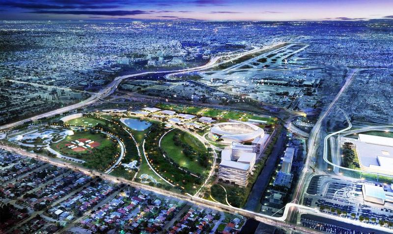 "Beckham Turns His Sights To Redevelop Melreese Golf Course Into Office Space Masking Proposal As ""Public Park"""