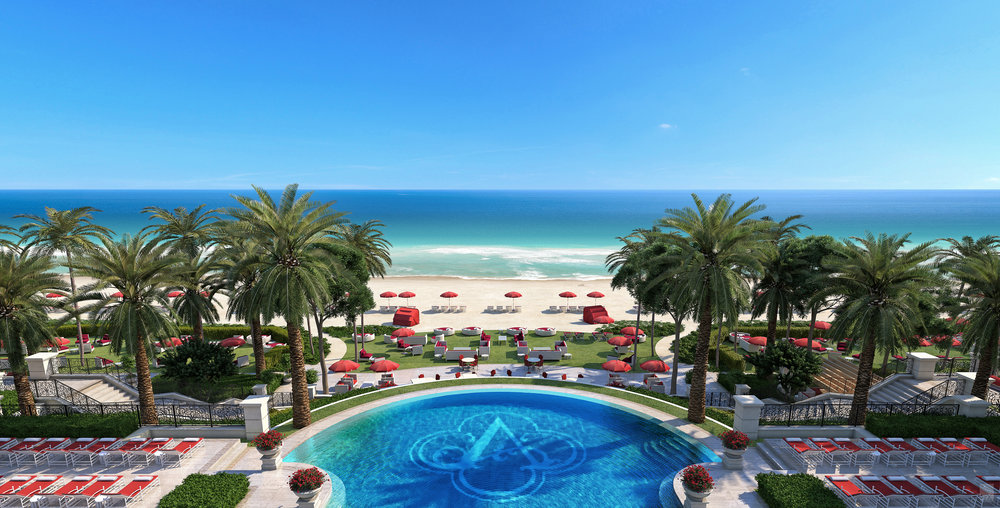 Immerse Yourself In The Estates At Acqualina's Lavish Amenities At Villa Acqualina Including A Speakeasy In Sunny Isles Beach