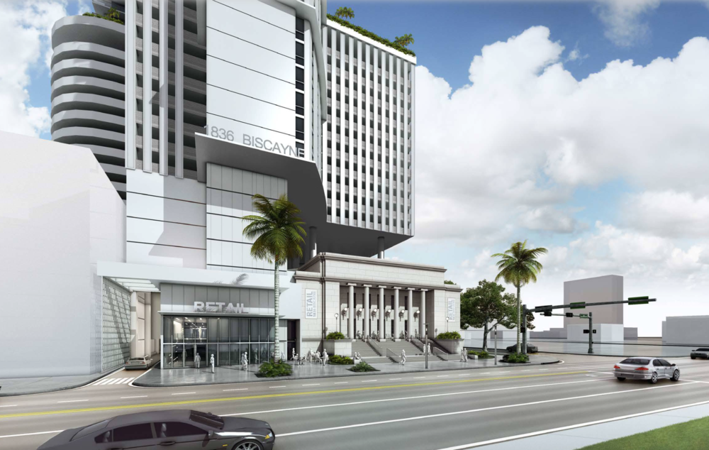 Movement At 1836 Biscayne As Fifteen Group Applies For Unity of Title Nearing Construction Permit