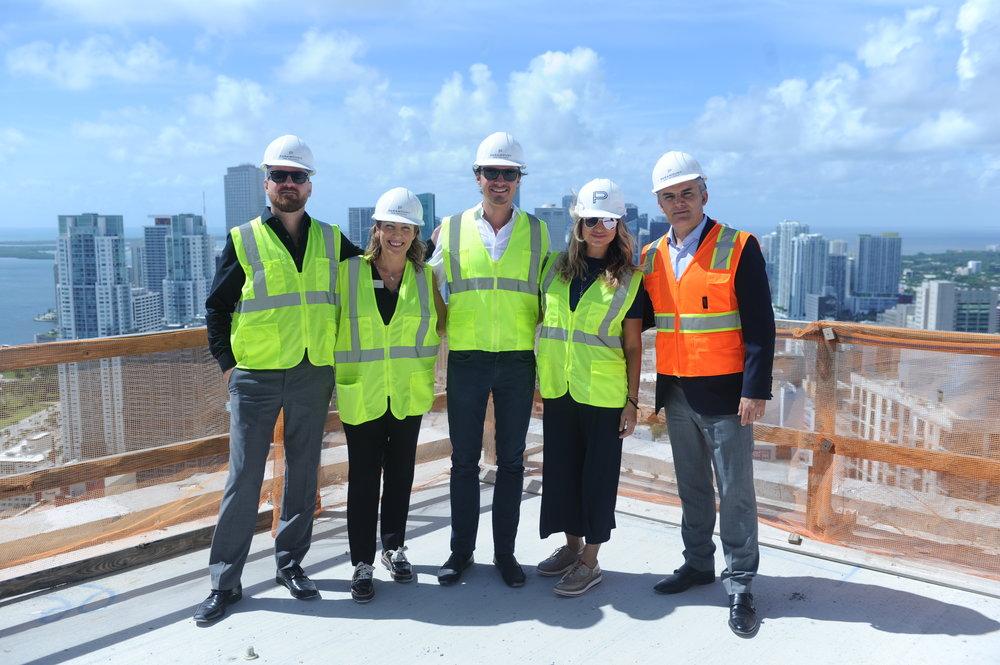 (L to R) Robson Coelho, Cristi Doldan de Carmona, Yury Bylina, Shelley Figueroa, & Sergio Mannarino