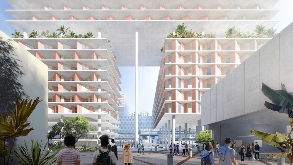 Robert Wennett Proposes Bjarke Ingels-Designed Special Area Plan For Miami Produce Center