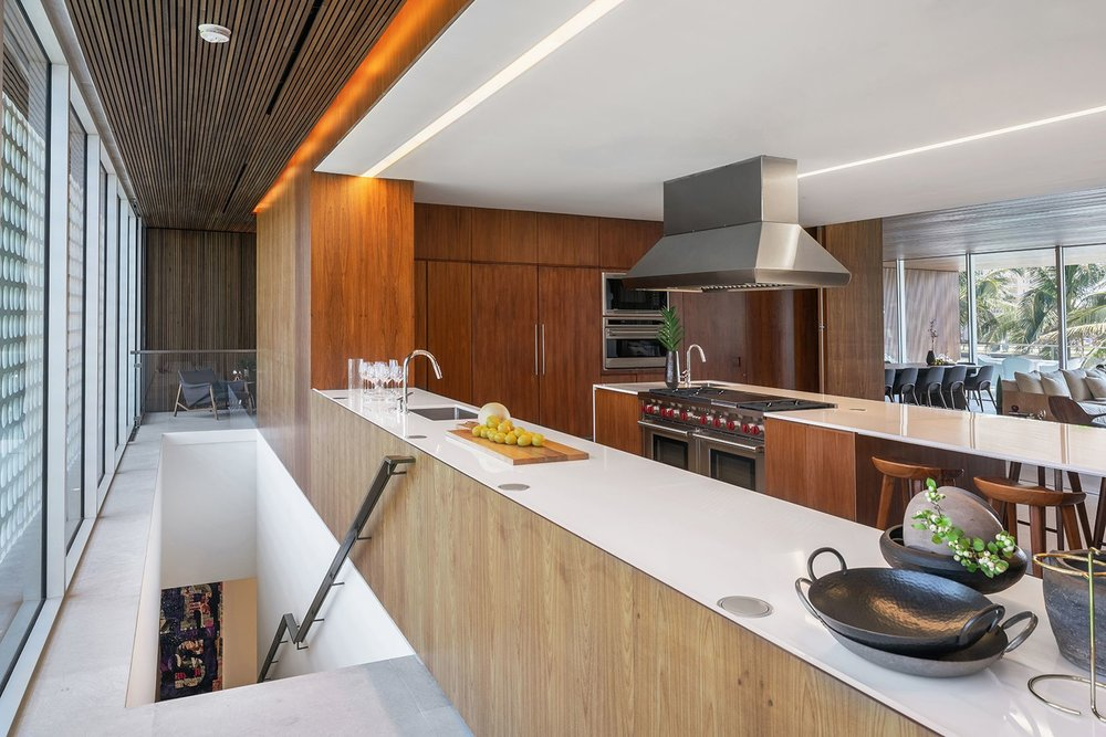 Check Out This Studio MK-27-Designed Ultra-Luxe Pine Tree Drive Contemporary Asking $25.75 Million