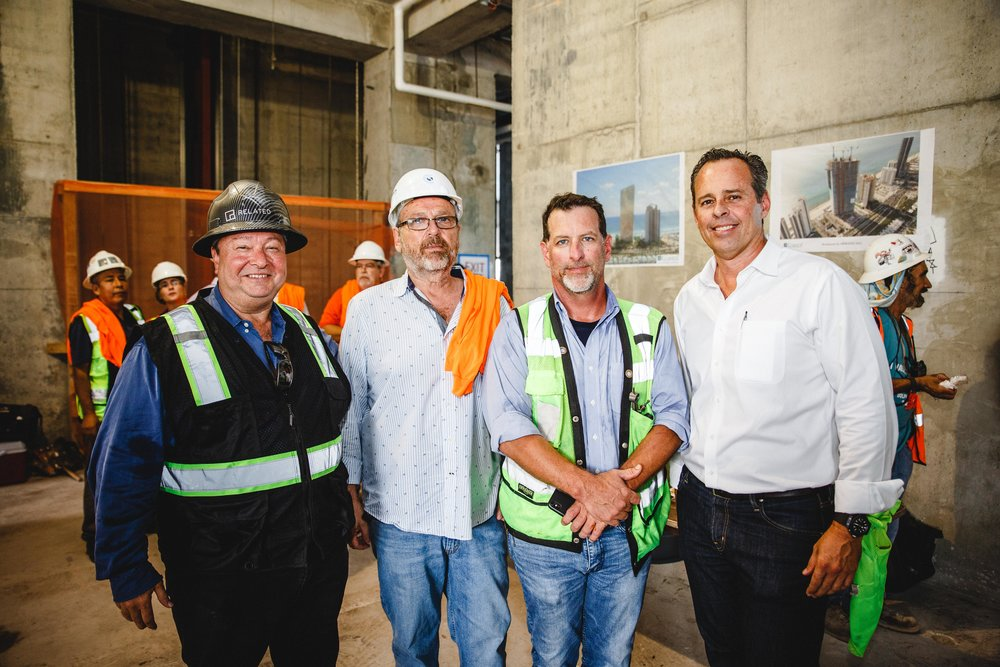 Bill Fleck, Shlomo Epstein, John Mills and Sean Murphy