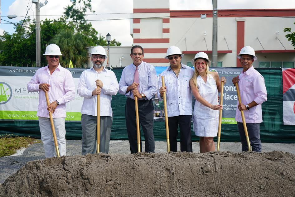 Developer Celebrates Plans to Revitalize Coconut Grove with Groundbreaking at Metronomic Place