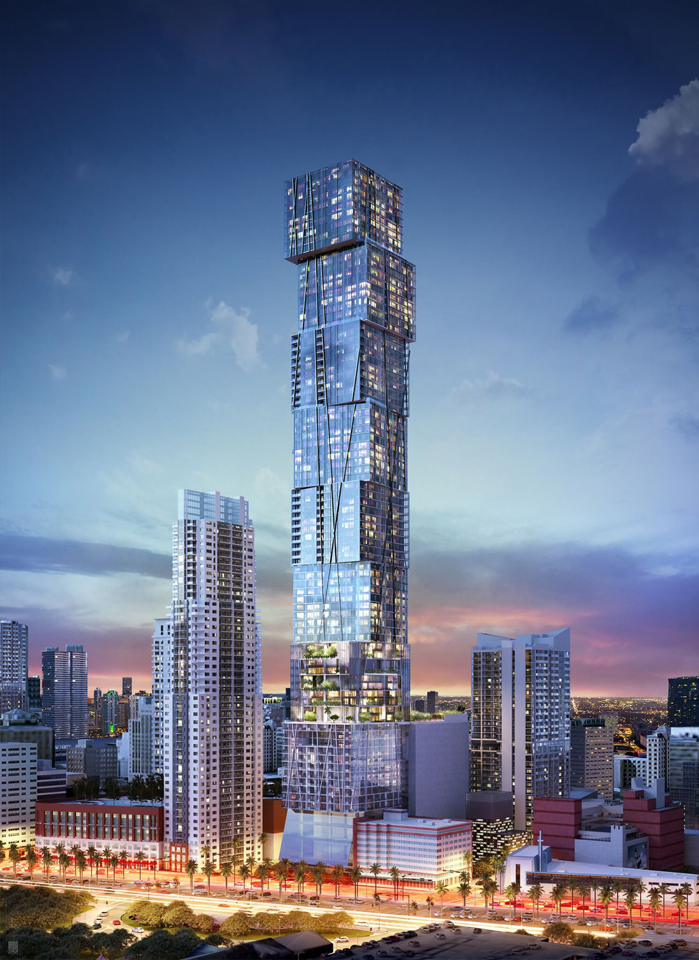 PMG To Bring Waldorf Astoria Hotel & Residences To 300 Biscayne, Set To Become Miami's Tallest Tower