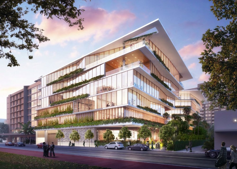 Starwood Capital Group Proposes Gensler-Designed Office Building On Collins Avenue in Miami Beach